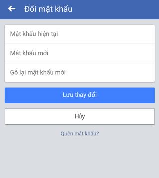 doi mat khau lien quan facebook